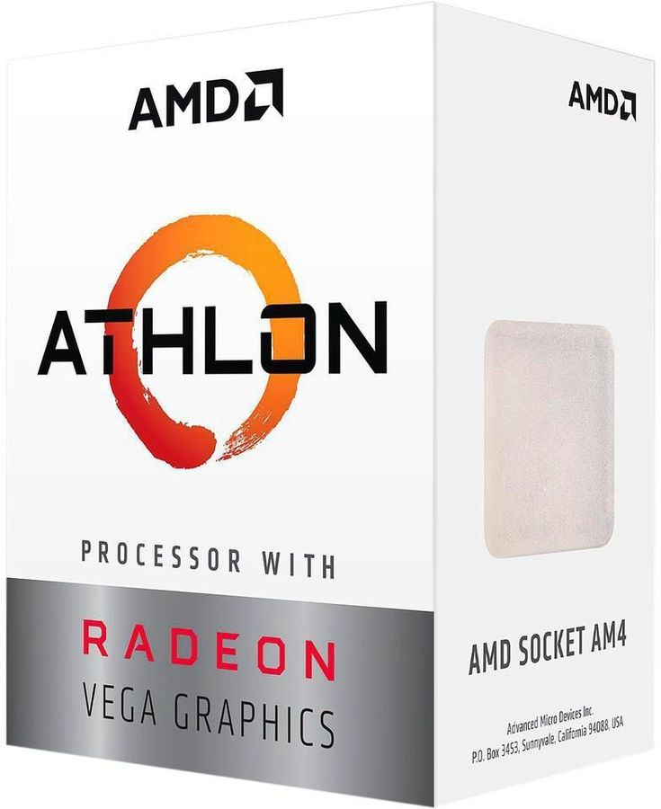 Процессор AMD Athlon 200GE, SocketAM4 BOX [yd200gc6fbbox]