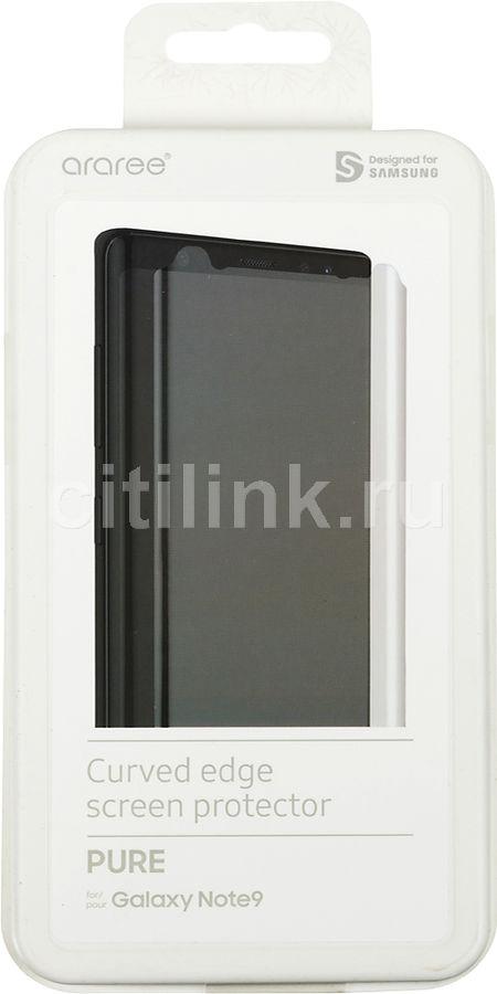 Защитная пленка для экрана SAMSUNG для Samsung Galaxy Note 9,  прозрачная, 1 шт [gp-n960kdefaia]
