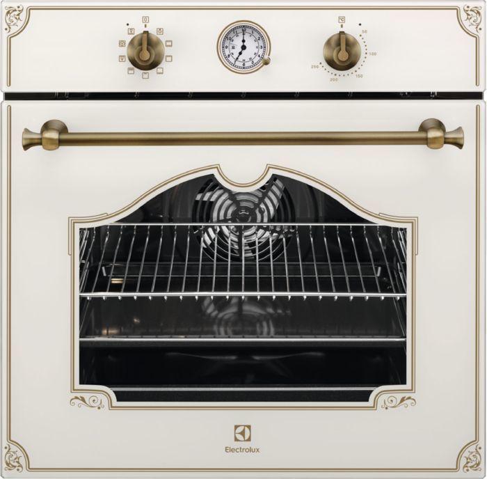 Духовой шкаф ELECTROLUX OPEB2500V,  кремовый