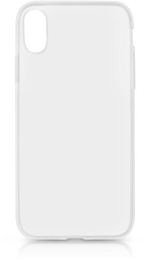 Чехол (клип-кейс) DF iCase-10, для Apple iPhone X, прозрачный