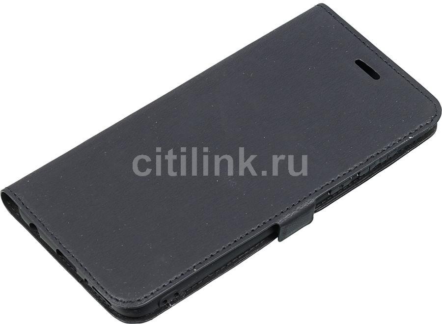 Чехол (флип-кейс) DF hwFlip-36, для Huawei Honor 7C Pro, черный