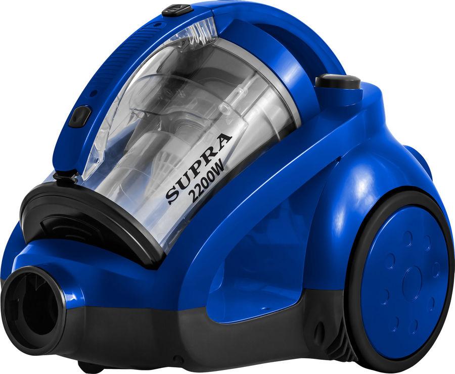 Пылесос SUPRA VCS-2236, 2200Вт, синий