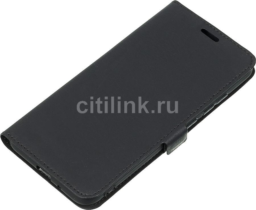 Чехол (флип-кейс) DF xiFlip-30, для Xiaomi Redmi 6A, черный