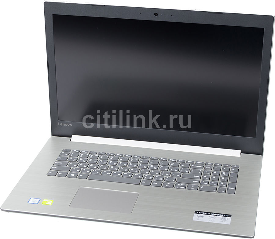 "Ноутбук LENOVO IdeaPad 330-17IKBR, 17.3"",  IPS, Intel  Core i3  7020U 2.3ГГц, 8Гб, 1000Гб,  256Гб SSD,  nVidia GeForce  Mx150 - 2048 Мб, Free DOS, 81DM00AERU,  серый"