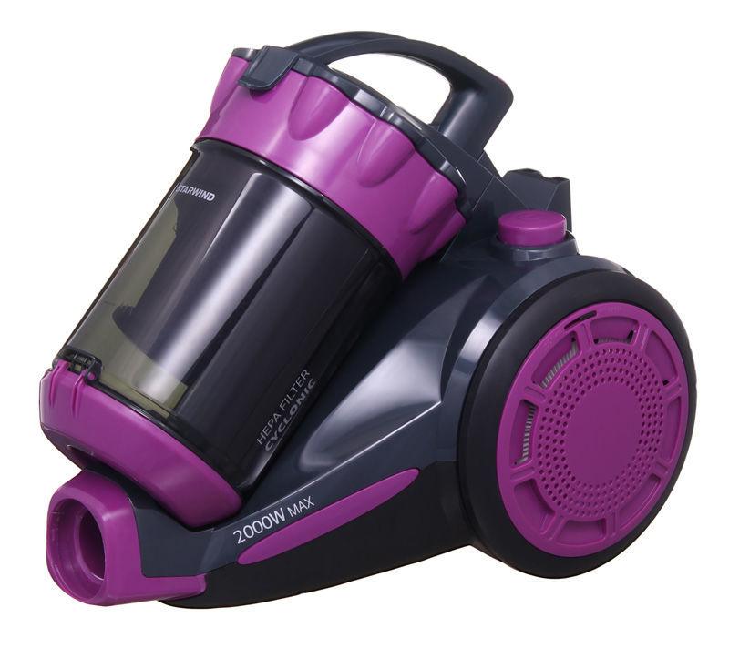 Пылесос STARWIND SCV2030, 2000Вт, фиолетовый/черный