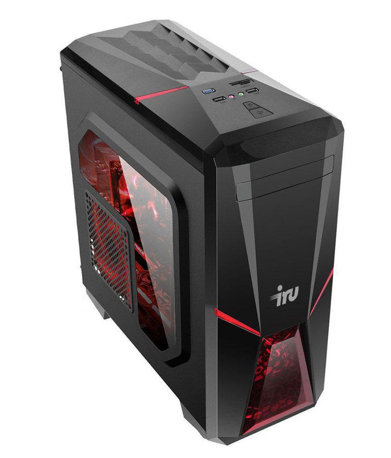 Компьютер  IRU Premium 515,  Intel  Core i5  8500,  DDR4 8Гб, 240Гб(SSD),  NVIDIA GeForce GTX 1060 - 6144 Мб,  Windows 10 Home,  черный [1090309]