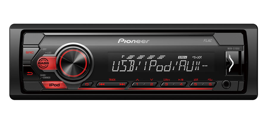 Автомагнитола PIONEER MVH-S110UI,  USB