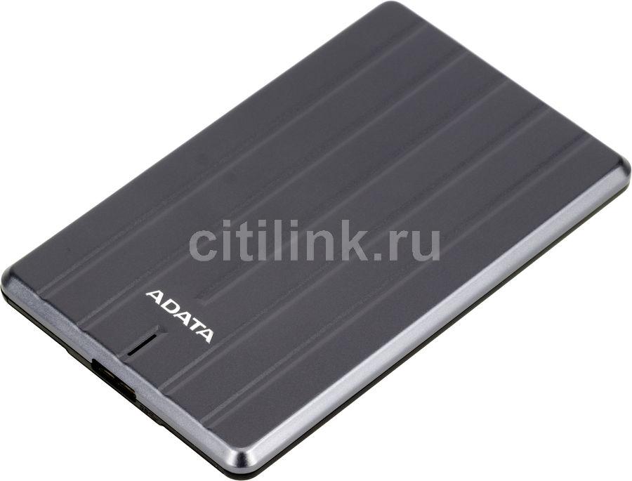 Внешний жесткий диск A-DATA DashDrive Durable HC660, 2Тб, серый [ahc660-2tu31-cgy]