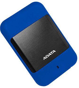 Внешний жесткий диск A-DATA DashDrive Durable HD700, 1Тб, синий [ahd700-1tu31-cbl]