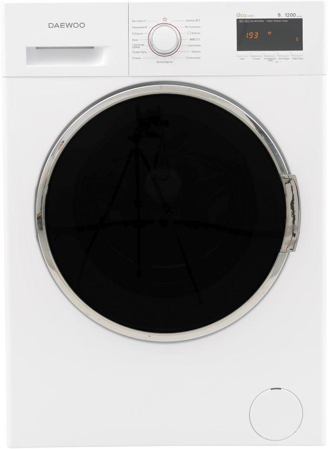 Стиральная машина DAEWOO WMD-R912D1BP, фронтальная загрузка,  белый