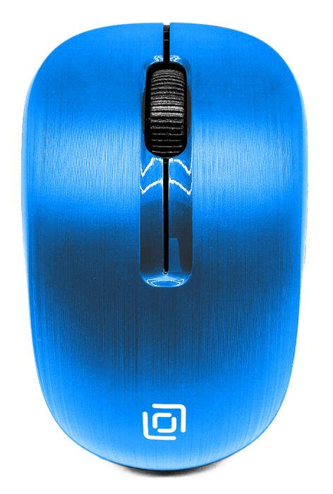 Купить Мышь ОКЛИК 525MW, беспроводная, USB, голубой в интернет-магазине СИТИЛИНК, цена на Мышь ОКЛИК 525MW, беспроводная, USB, голубой (1090724) - Белгород