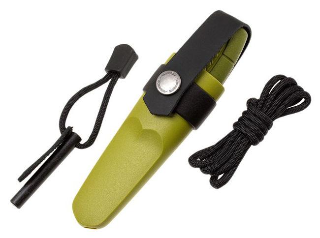 Нож с фиксированным лезвием MORA Eldris, 143мм, зеленый  [12633]