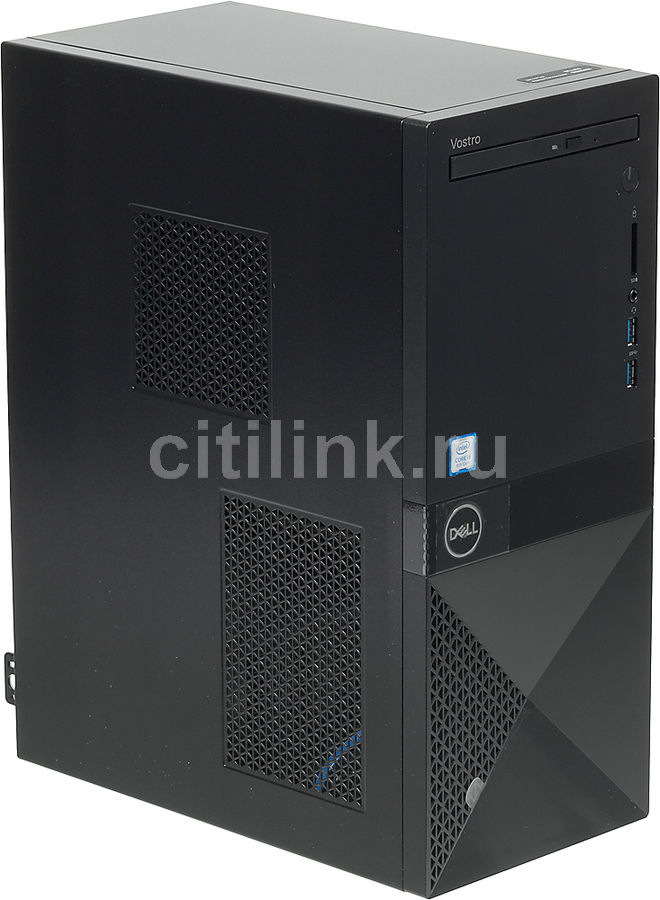 Компьютер  DELL Vostro 3670,  Intel  Core i5  8400,  DDR4 4Гб, 1000Гб,  Intel UHD Graphics 630,  DVD-RW,  CR,  Windows 10 Home,  черный [3670-7332]