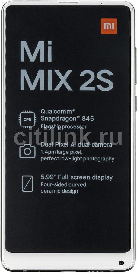 Смартфон XIAOMI Mi MIX2S 64Gb,  белый
