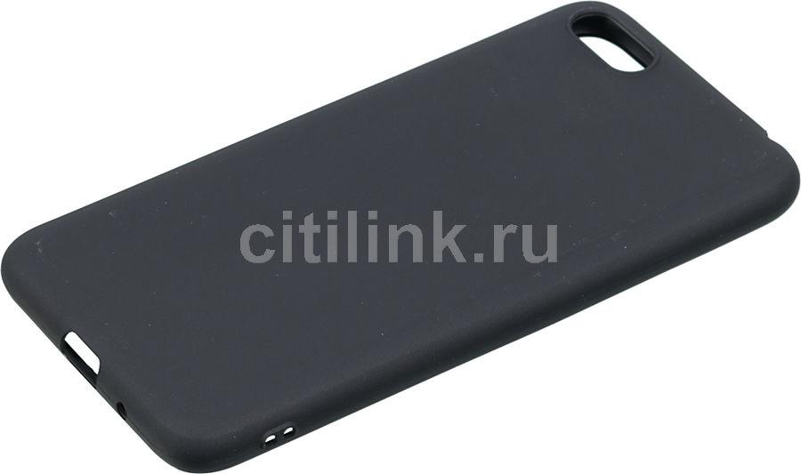 Чехол (клип-кейс) GRESSO Meridian, для Huawei Honor 7A/Y5 Lite/Y5 Prime (2018), черный [gr17mrn407]