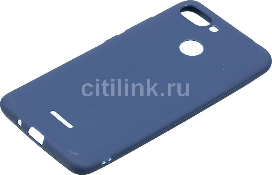 Чехол (клип-кейс)  Gresso Meridian, для Xiaomi Redmi 6, темно-синий [gr17mrn347]