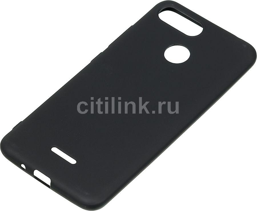 Чехол (клип-кейс)  Gresso Meridian, для Xiaomi Redmi 6, черный [gr17mrn346]