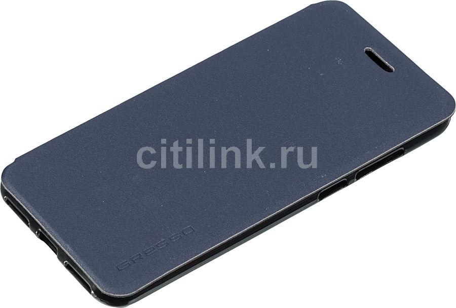 Чехол (флип-кейс) GRESSO Atlant, для Huawei Honor 7A Pro/7С, синий [gr15atl120]