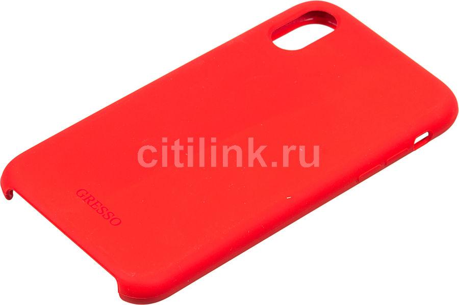 Чехол (клип-кейс)  Gresso Smart, для Apple iPhone XR, красный [gr17smt030]