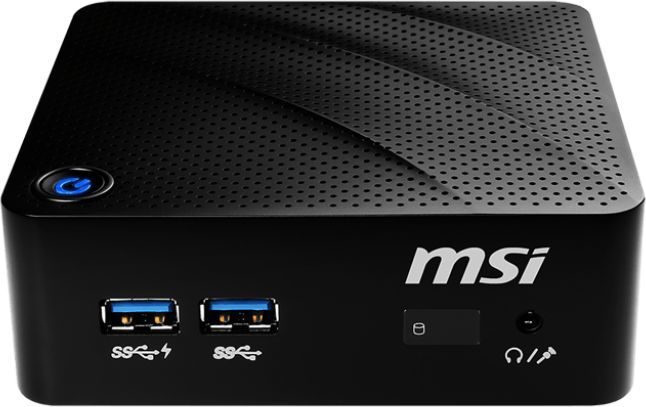 Неттоп  MSI Cubi N 8GL-036RU,  Intel  Celeron  N4000,  DDR4 4Гб, 128Гб(SSD),  Intel UHD Graphics 600,  Windows 10,  черный [9s6-b17111-036]