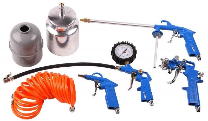 Набор пневмоинструментов ЗУБР 06458-H5,  5 предметов