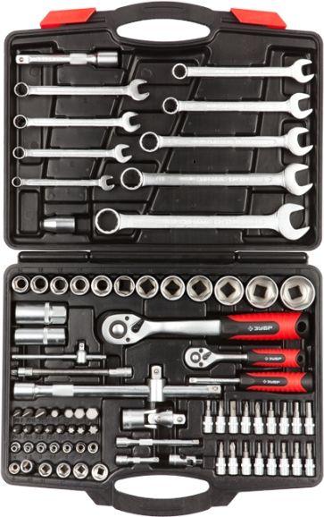 Набор инструментов ЗУБР 27635-H82,  82 предмета