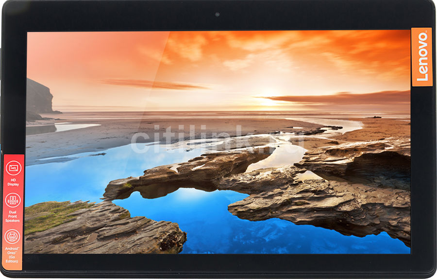 Планшет LENOVO Tab E10 TB-X104F,  2GB, 16GB, Android 8.1 черный [za470005ru]