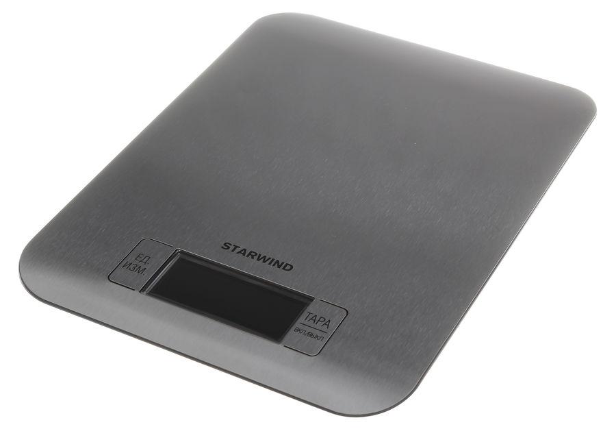 Весы кухонные STARWIND SSK6673,  серебристый