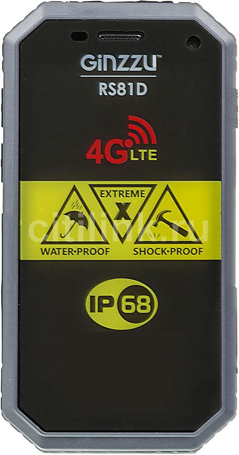 Смартфон GINZZU RS81D черный