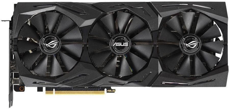Видеокарта ASUS nVidia  GeForce RTX 2070 ,  ROG-STRIX-RTX2070-A8G-GAMING,  8Гб, GDDR6, Ret