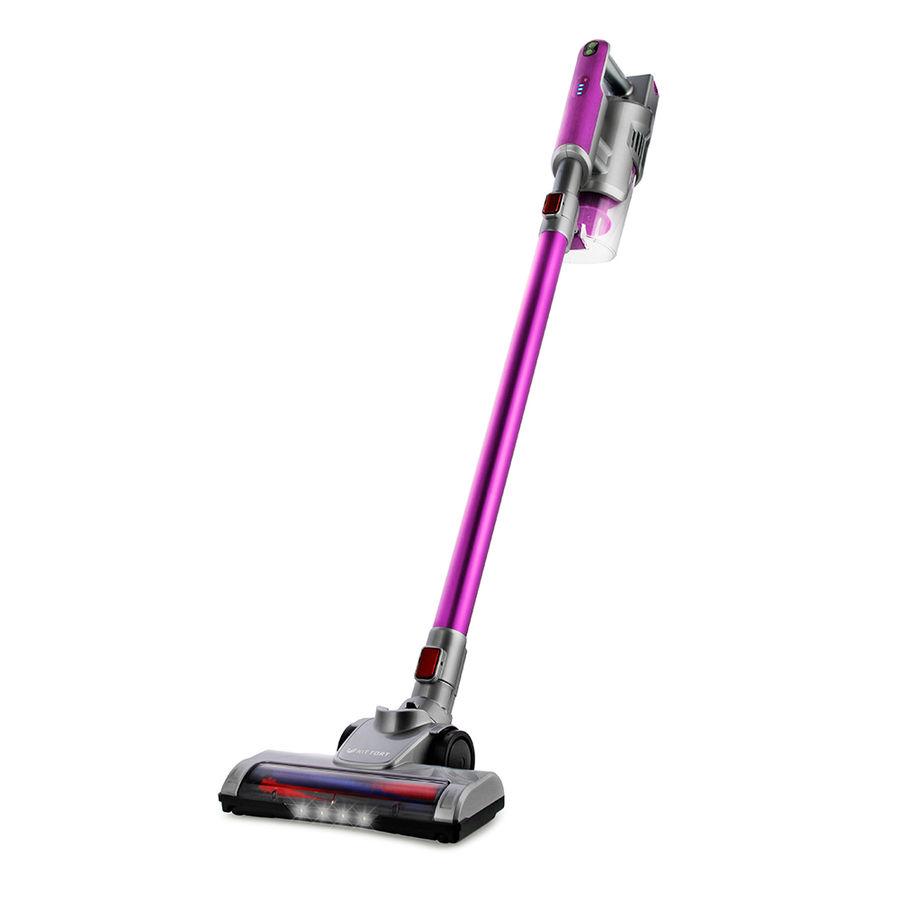 Ручной пылесос (handstick) KITFORT КТ-536-2, 120Вт, фиолетовый/серый