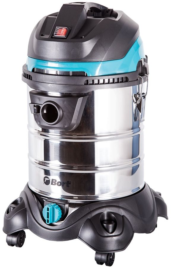 Строительный пылесос BORT BSS-1425-PowerPlus синий [91272270]
