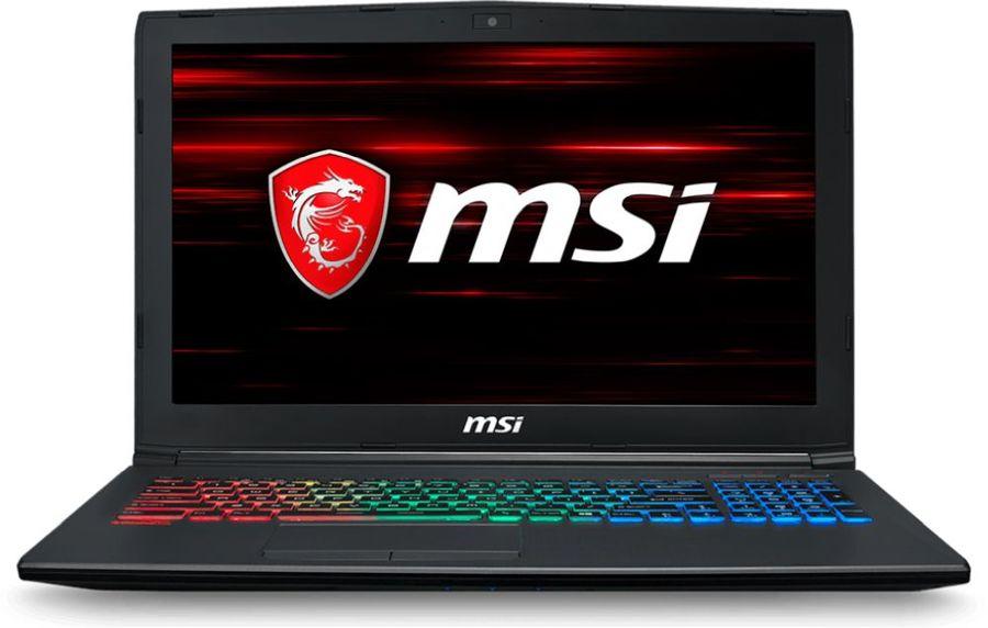 Ноутбук MSI GF62 8RD-266RU, 9S7-16JF22-266,  черный