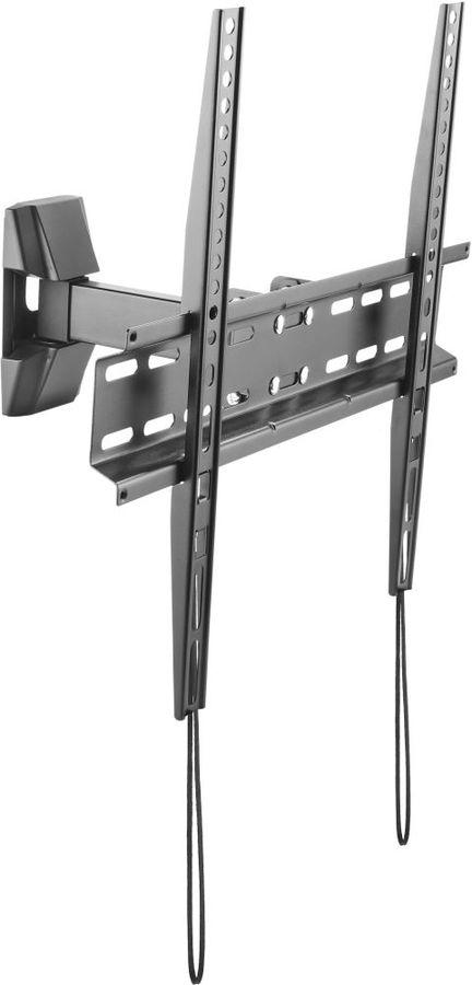 """Кронштейн для телевизора Ultramounts UM 878 черный 32""""-55"""" макс.35кг настенный поворотно-выдвижной и"""