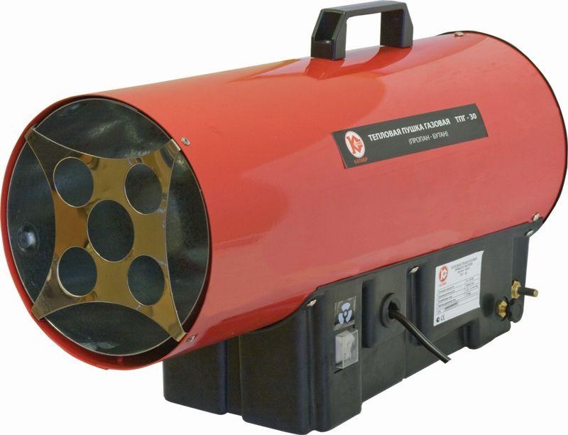 Тепловая пушка газовая КАЛИБР ТПГ-33,  33кВт красный [110106]