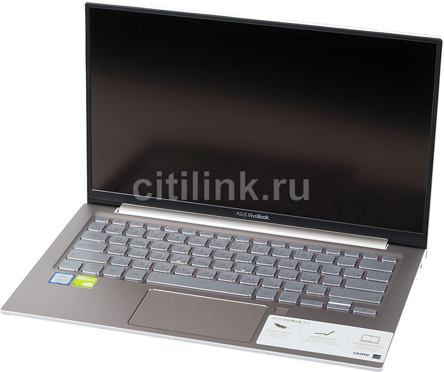 "Ноутбук ASUS VivoBook S330UN-EY008T, 13.3"",  IPS, Intel  Core i5  8250U 1.6ГГц, 8Гб, 256Гб SSD,  nVidia GeForce  Mx150 - 2048 Мб, Windows 10, 90NB0JD2-M00630,  золотистый"