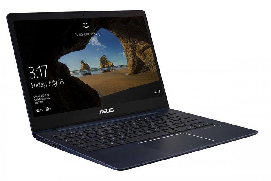 """Ноутбук ASUS Zenbook UX331UN-C4035T, 13.3"""",  IPS, Intel  Core i5  8250U 1.6ГГц, 8Гб, 256Гб SSD,  nVidia GeForce  Mx150 - 2048 Мб, Windows 10, 90NB0GY1-M04350,  синий"""