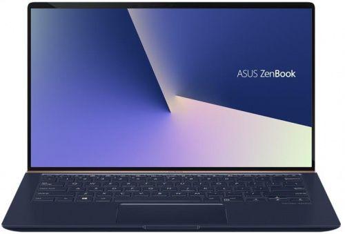 """Ультрабук ASUS Zenbook UX433FA-A5093T, 14"""",  Intel  Core i3  8145U 2.1ГГц, 8Гб, 256Гб SSD,  Intel UHD Graphics  620, Windows 10, 90NB0JR1-M01380,  синий"""