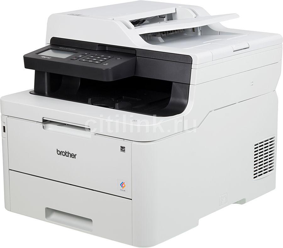 МФУ лазерный BROTHER MFC-L3770CDW,  A4,  цветной,  светодиодный,  белый [mfcl3770cdwr1]