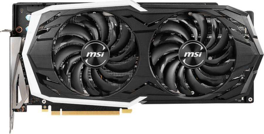 Видеокарта MSI nVidia  GeForce RTX 2070 ,  RTX 2070 ARMOR 8G,  8Гб, GDDR6, Ret