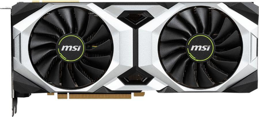 Видеокарта MSI nVidia  GeForce RTX 2080 ,  RTX 2080 VENTUS 8G,  8Гб, GDDR6, Ret