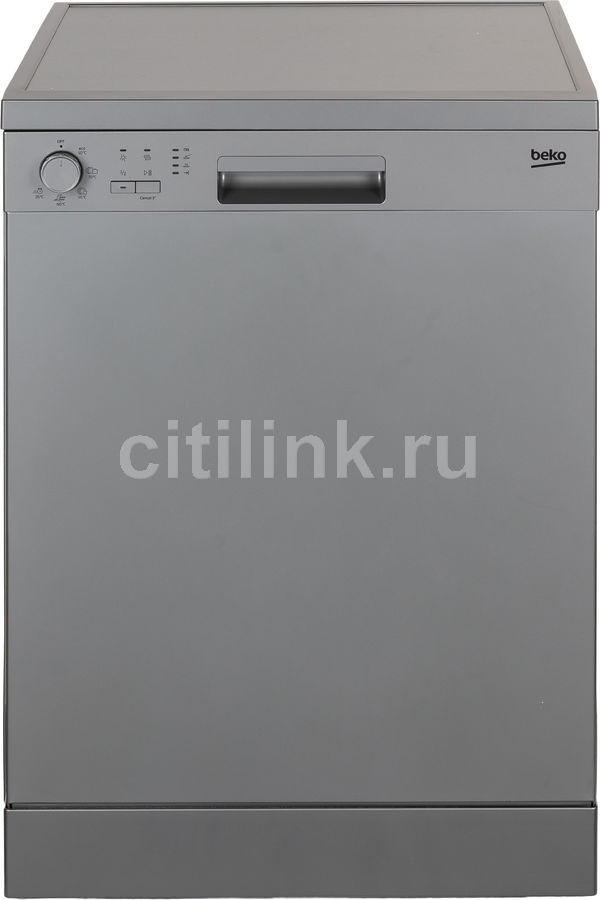 Посудомоечная машина BEKO DFN05W13S,  полноразмерная, серебристая