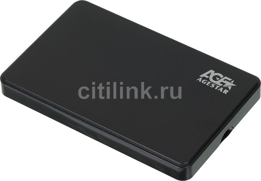 Внешний корпус для  HDD AGESTAR 3UB2P2, черный
