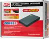 Внешний корпус для  HDD/SSD AGESTAR 3UB2P3, черный вид 9