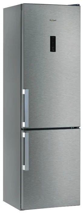 Холодильник WHIRLPOOL WTNF 901 X,  двухкамерный, нержавеющая сталь [155296]