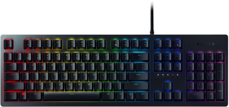 Клавиатура RAZER Huntsman,  USB, черный [rz03-02521100-r3r1]