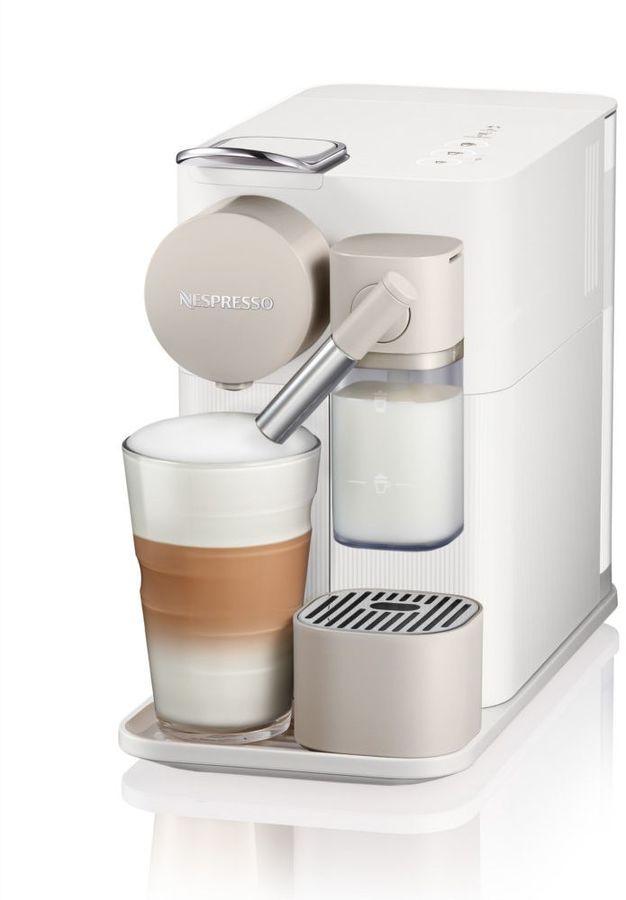 Капсульная кофеварка DELONGHI Nespresso EN500.W, 1400Вт, цвет: белый [132193274]