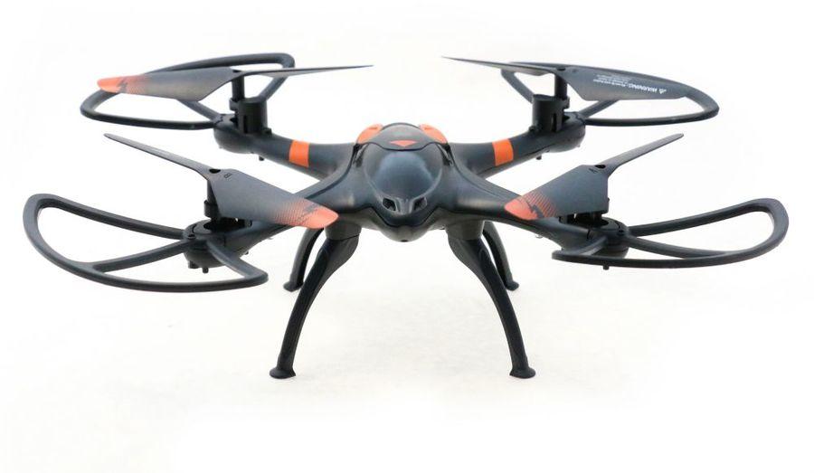Квадрокоптер AOSENMA X-Drone FPV с камерой,  черный [aos-v4]