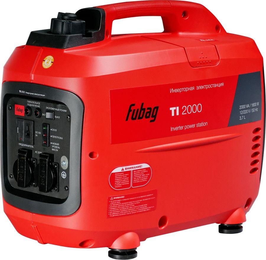 Бензиновый генератор FUBAG TI 2000,  220 В,  1.6кВт [68219]