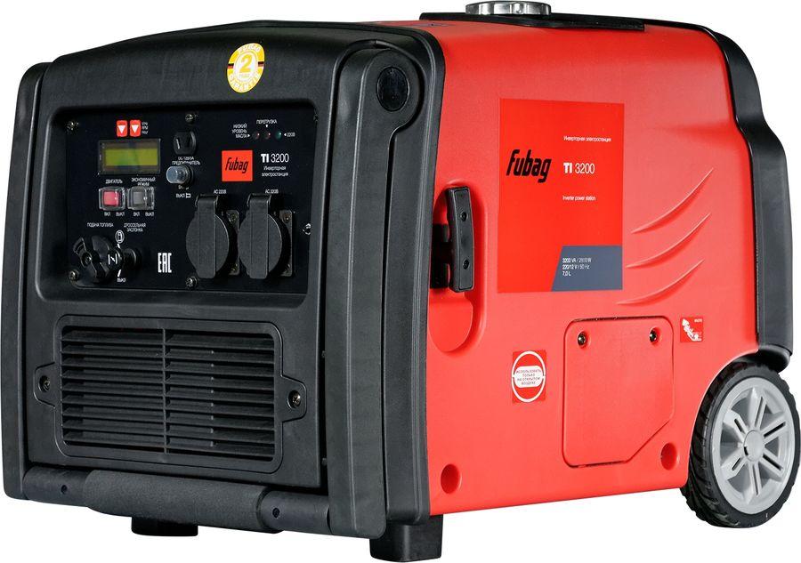 Бензиновый генератор FUBAG TI 3200,  220 В,  2.56кВт [838206]